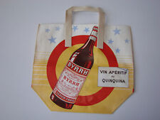 BYRRH Ancienne Pub papier sac de transport Vin Cognac Rhum Jacsi