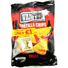 Wanted Tortilla Chips Chilli Flavour Full Case 12 x 150g