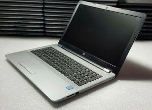 "HP 250 G6 15.6"", 256GB SSD, i5-7200U @ 2.50GHZ, 8GB RAM, W10 - SCRATCHED/CRACKED"