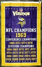 Minnesota Vikings Nfl Banners For Sale Ebay