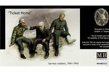 MasterBox MB3552 1/35 Ticket Home German Soldiers, 1941-1943
