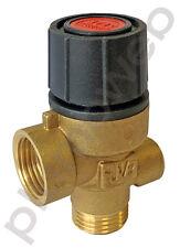 Ariston 998447 Spare Boiler Safety Pressure Relief Valve with Gauge Port