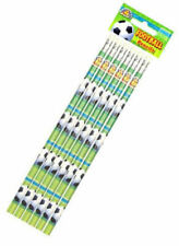 12 Football Pencils - Pinata Toy Loot/Party Bag Fillers Childrens/Kids