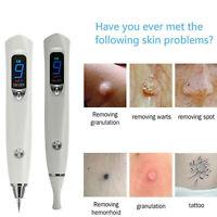 HOT Laser Freckle Removal Machine Skin Mole Dark Spot Face Wart Tag Remover Pen