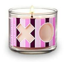 Bath and Body Works Mini Candle XOXO NEW Scent Strawberry Mimosa