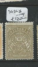 VICTORIA (P2302B)  POSTAL FISCAL 3/-  SG 268  MOG