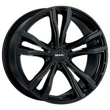 "CERCHI IN LEGA MAK BMW X6 Staggered X6(F16) X-MODE GLOSS BLACK 20"" 10J 5X120"