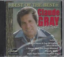 CLAUDE GRAY BEST OF  BEST FAMILY BIBLE I'll Just Have A Cup Of Coffee NEW CD