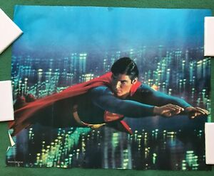 SUPERMAN The Movie 1978 DC Comics Proctor & Gamble poster premium give-a-way l2