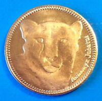 Somaliland 5 shillings 2016 UNC Cheetah Acinonyx Jubatus Cat unusual coin