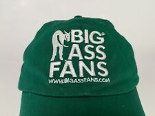 Big Ass Fans Hat Cap Donkey Stretch Fit One Size Green