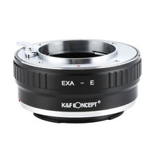 K&F concepto Adaptador para Exakta EXA Lente Sony E NEX A7R A7S A7A7II A6300 A6000