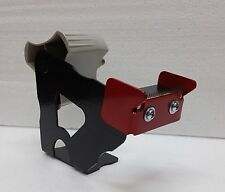 Wall mount packaging tape dispenser with blade guard. Commercial duty. 2 inch.