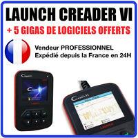 Launch Creader VI, Creader 6 Outil de diagnostic auto MANUEL EN FRANCAIS OBD2