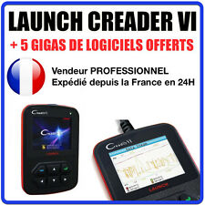 Valise Diagnostique Pro Multimarque En Français Obd Obd2 Diagnostic CREADER 6