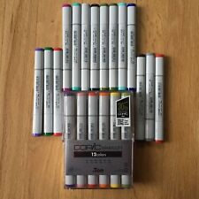 New Copic Marker Lot Of 26 Sketch .too