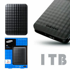 Samsung 1TB M3 Laptop Desktop USB 3.0 External Hard Drive Black HDD 1 Terabyte