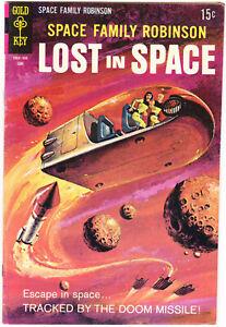 Lost in Space Family Robinson 34 FVF (7.0) Gold Key Comics 1969 Sci-Fi Aliens