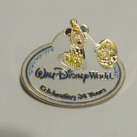 Disney WDW Cast Exclusive WDW Resort 34th Anniversary Cast Nametag Mickey Pin