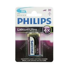 Philips Lithium Ultra Batteries BLISTER - Size PP3