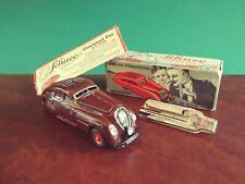 1930er Original BRAUN Schuco 2000 Kommando Blechspielzeug Tin Toy mit OVP
