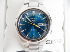 Seiko SNK615K1 Automatik Silber Herrenuhr Armbanduhr NEU