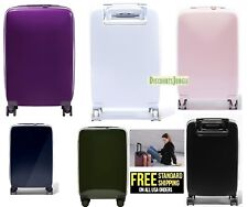 RADEN A22 USB SMART LUGGAGE HARDSIDE CARRY ON Spinner 22'' INCH SUITCASE GLOSS