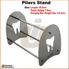 Stainless Steel Dental Stand Holder For Orthodontic Pliers Forceps Scissors