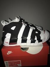 Nike Air More Uptempo GS White/Red UK 6 US 7Y EUR 40 CM 25