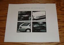 Original 1991 Honda Full Line Sales Brochure 91 Accord Civic Prelude CRX