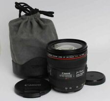 [Mint] Canon Zoom Lens EF 24-70mm F/4 L IS USM from Japan #125
