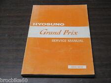 MANUEL REVUE TECHNIQUE D ATELIER HYOSUNG GPS 125 GRAND PRIX 1998- service manual