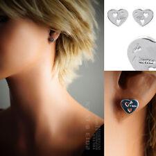 Boucles d'oreilles COEUR je t'aime en ARGENT 925°°° NEUF - 1351600 - BEAU BIJOU