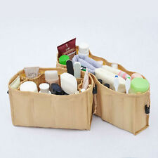 BNIB 2 SET BEIGE KANGAROO KEEPER INSTANT BAG PURSE HANDBAG ORGANIZER REMOVABLE