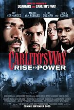 Carlito's Way movie poster - Rise To Power, Jay Hernandez, Sean Combs