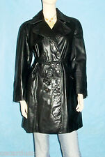 veste trench SERAPHIN made france en cuir  taille 40 fr