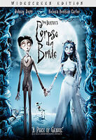 Tim Burtons Corpse Bride (DVD, 2006 Widescreen) JOHNNY DEPP,  ANIMATED BRAND NEW