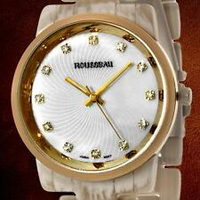 New Rousseau Adele Ladies Horn Watch