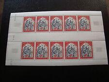 MONACO - timbre yvert et tellier n°788 x10 n** (coin date 4/12/68)-stamp monaco