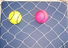 """27' X 20' Baseball Softball ( Lacrosse Barrier ) Nylon Netting 1 3/4"""" #15"""