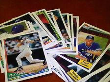 1993-1994 + 1993 update Topps baseball pick 40 cards ex-nm