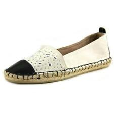 Zapatos planos de mujer de color principal blanco de lona Talla 38.5