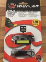 Streamlight Bandit Headlamp LED BLACK 180 Lumens USB Rechargeable Lightweight
