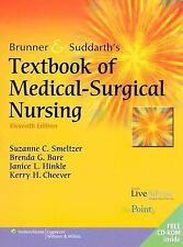 Brunner and Suddarth's Textbook of Medical-Surgical Nursing, 11th Edition (2 Vol