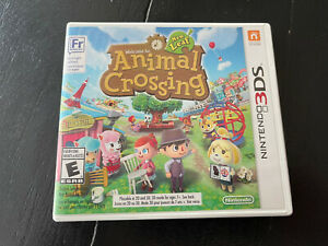 Animal Crossing: New Leaf (3DS, 2013) DS - Complete, Tested, Very Good Condition