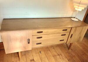 Nathan Sideboard Cabinet Retro Cupboard Schreiber Mid Century Danish Vintage TV