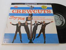 THE CREW-CUTS SING FOLK Camay CA-3002 S crewcuts album vinyl