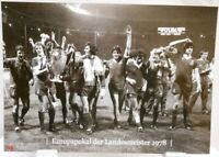 FC Liverpool + Europapokal Landesmeister Winner 1978 Fan Big Card Edition A138