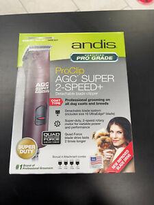 Andis PRO Excel SMC 5 Speed Detachable Blade Clipper NEW! #22360 AGC2