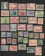 Worldwide collection of old stamps